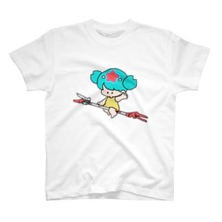 たかえだきりばさみ T-shirts