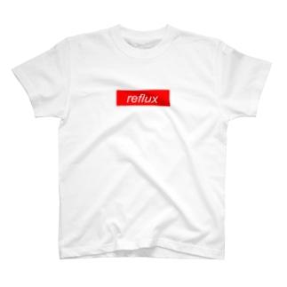 かふぇのボックスロゴTシャツ -reflux- T-shirts
