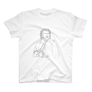 Bach 【全9色】 T-shirts