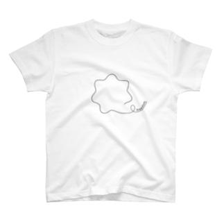 かふぇのドブロイ波 -freedom- T-shirts