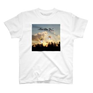 夕焼け空の天使ちゃん T-shirts