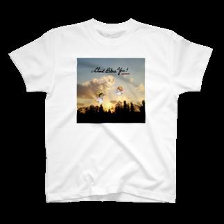 「みな☆の」の夕焼け空の天使ちゃん T-shirts