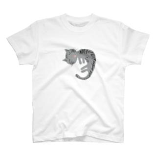 おやすみねこちゃん T-shirts