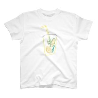 なつやすみのレモネード T-shirts