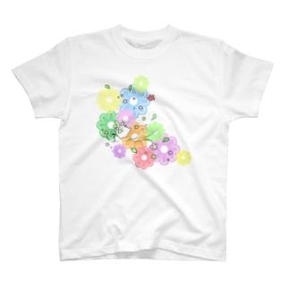 長老のダンス(カラフル) T-shirts