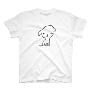 おすわり T-shirts