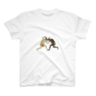 地獄de相撲 T-shirts