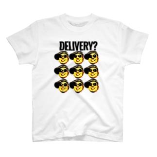 「顔爆」シリーズ T-shirts