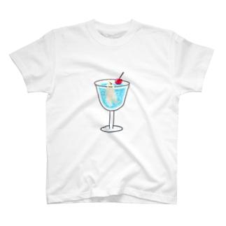 シュワシュワプール T-shirts