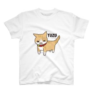 巨大ねこゆずさん T-shirts