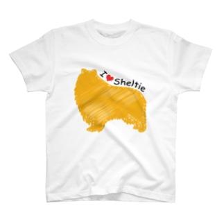 I♥Sheltie T-shirts