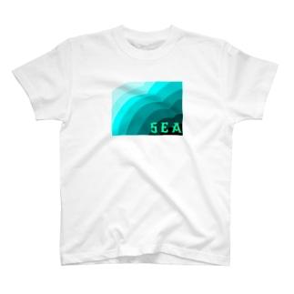 ウミ T-shirts