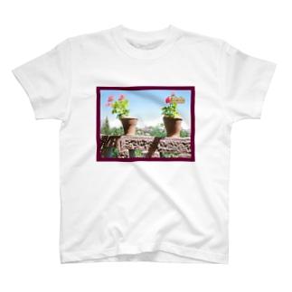 スペイン:トレドの遠景写真 Spain: Toledo T-shirts