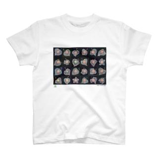 天才アートKYOTO 大場多知子_3 T-shirts