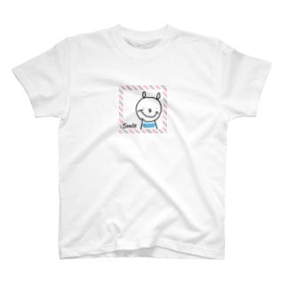 スマイル熊さん T-shirts