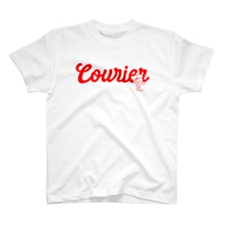 配達員〜Courier〜赤 T-shirts