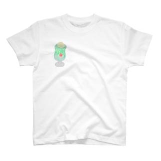 クリームソーダlove T-shirts