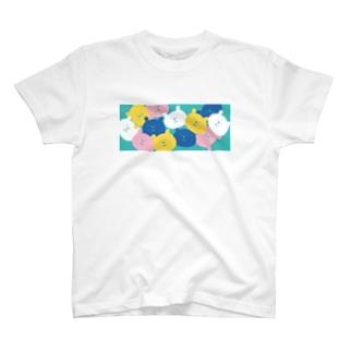 パラパラクマ レトロカラー3gr T-shirts