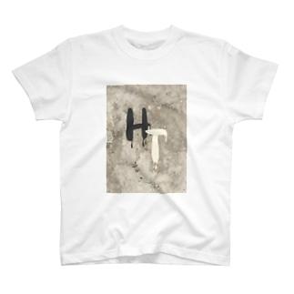 ひまわりttcロゴ入りTシャツ2 T-shirts