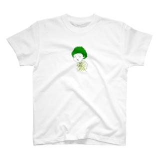 ブロッコリーきゅん T-shirts