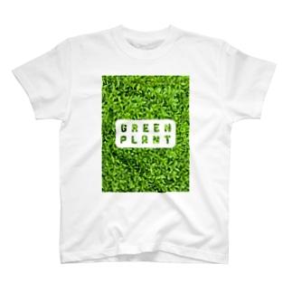 zikomanking SHOPのGREEN PLANT T-shirts