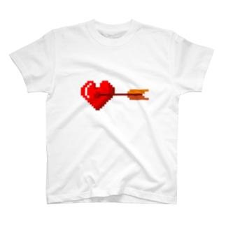 ズキュウン☆ハート T-shirts