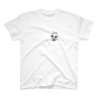 クレイジー闇うさぎ(病み・輸血パック) T-shirts