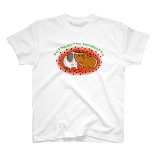 モルモットTシャツ T-shirts