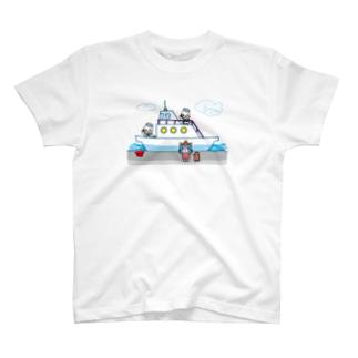 旅するゆめねこ~船旅編 T-shirts