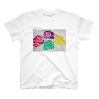 Colorful shells T-shirts