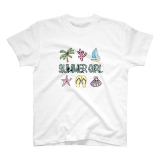 Summer Girl🌴 T-shirts
