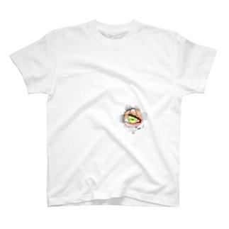 のぞき見Tシャツ T-shirts