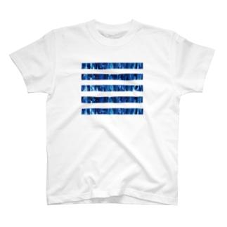 BLUE LINE T-shirts