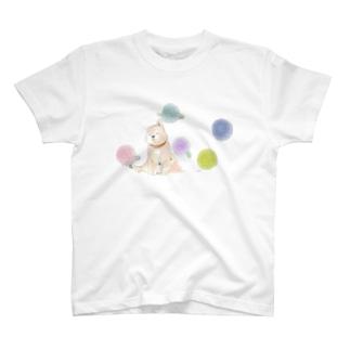 丸花と柴子 T-shirts