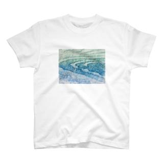 水面Ⅴ T-shirts