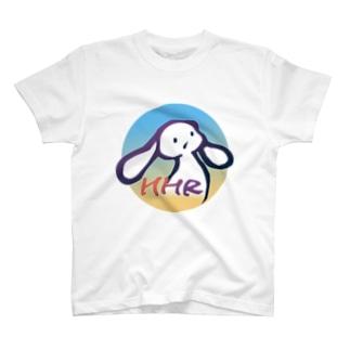 ミミタン2000夏 青-黄(supesharu) T-shirts