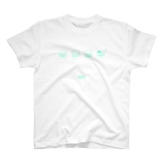 Melting Summer - Green T-shirts