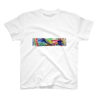 踊るイロドリちゃん T-shirts