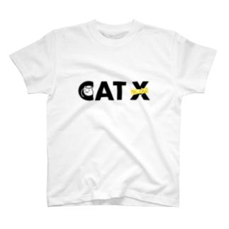 CAT Xロゴ T-shirts