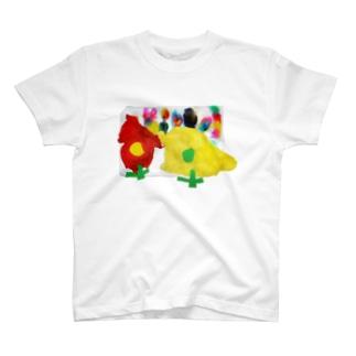 作:5さい T-shirts