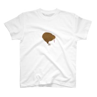 リアルめキウイくん T-shirts