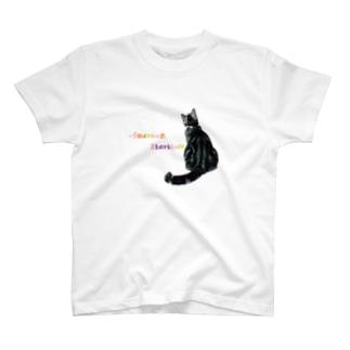バックシャンCAT T-shirts