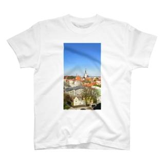 中世の街 タリン T-shirts