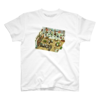 とりじんcafe T-shirts