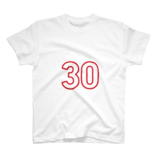 30歳のふしめ (Red) T-shirts
