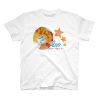 Leo-しし座-ハッピーベイビーハンズ- T-shirts