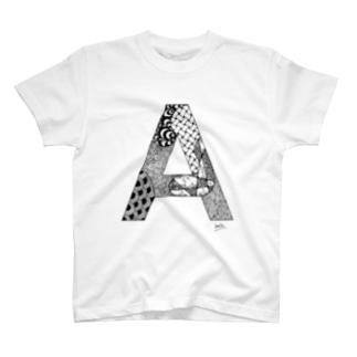 ゴシックのA T-shirts
