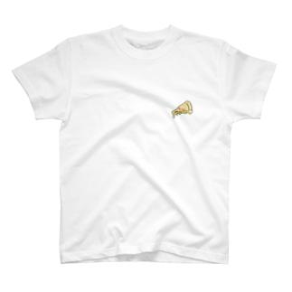 刺繍ピザ T-Shirt
