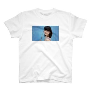 Light blue T-shirts