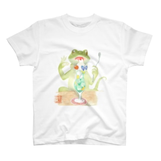 爬虫類喫茶 T-shirts